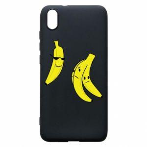 Phone case for Xiaomi Redmi 7A Banana in glasses