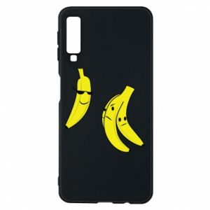Phone case for Samsung A7 2018 Banana in glasses