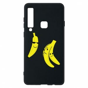 Phone case for Samsung A9 2018 Banana in glasses