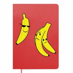 Notes Banan w okularach