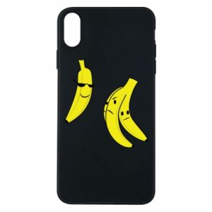 Phone case for iPhone Xs Max Banana in glasses