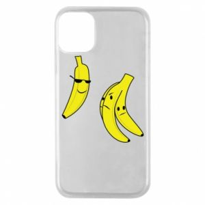 Phone case for iPhone 11 Pro Banana in glasses