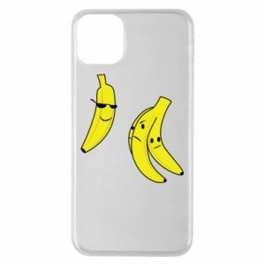 Phone case for iPhone 11 Pro Max Banana in glasses
