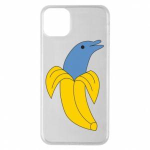 Etui na iPhone 11 Pro Max Banana dolphin