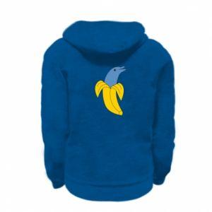 Bluza na zamek dziecięca Banana dolphin