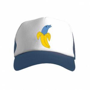 Czapka trucker dziecięca Banana dolphin