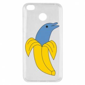 Etui na Xiaomi Redmi 4X Banana dolphin