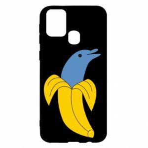 Etui na Samsung M31 Banana dolphin