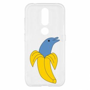 Etui na Nokia 4.2 Banana dolphin