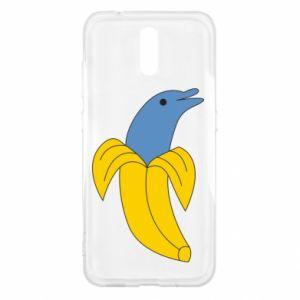 Etui na Nokia 2.3 Banana dolphin