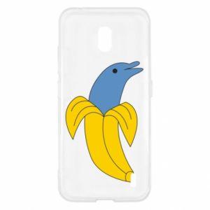 Etui na Nokia 2.2 Banana dolphin