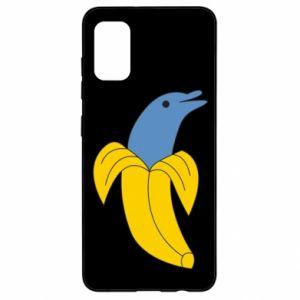 Etui na Samsung A41 Banana dolphin