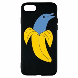 Etui na iPhone SE 2020 Banana dolphin