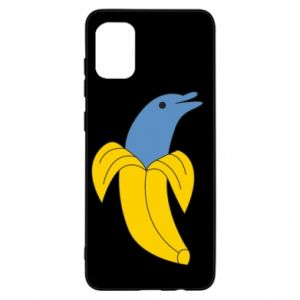Etui na Samsung A31 Banana dolphin
