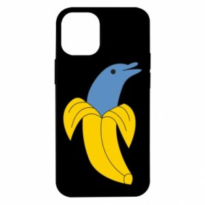 Etui na iPhone 12 Mini Banana dolphin