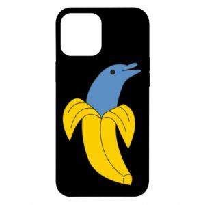 Etui na iPhone 12 Pro Max Banana dolphin