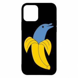 Etui na iPhone 12/12 Pro Banana dolphin