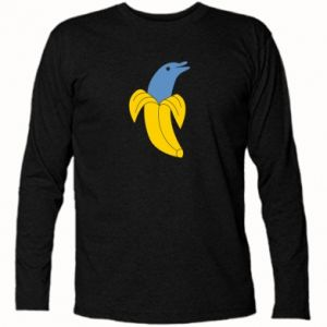 Long Sleeve T-shirt Banana dolphin - PrintSalon