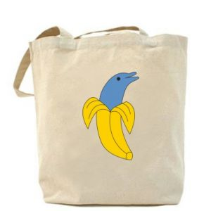 Bag Banana dolphin - PrintSalon
