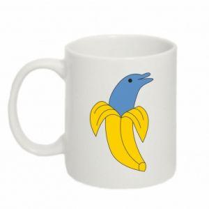 Mug 330ml Banana dolphin - PrintSalon