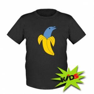 Kids T-shirt Banana dolphin