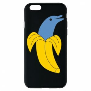 Etui na iPhone 6/6S Banana dolphin