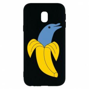 Etui na Samsung J3 2017 Banana dolphin