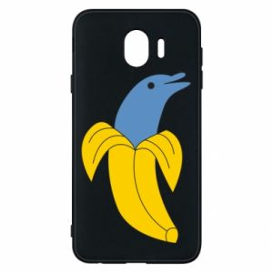 Phone case for Samsung J4 Banana dolphin - PrintSalon