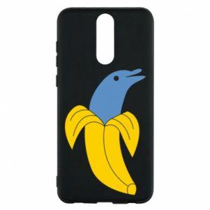 Phone case for Huawei Mate 10 Lite Banana dolphin - PrintSalon