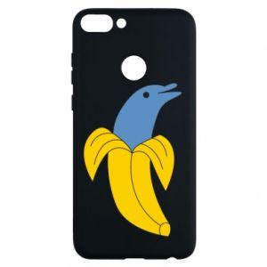 Etui na Huawei P Smart Banana dolphin