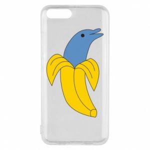 Phone case for Xiaomi Mi6 Banana dolphin - PrintSalon