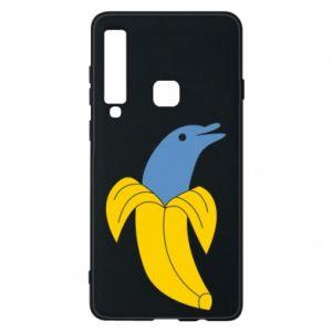 Phone case for Samsung A9 2018 Banana dolphin - PrintSalon