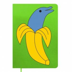 Notepad Banana dolphin - PrintSalon