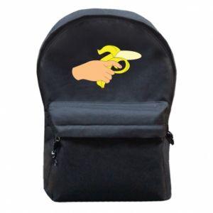 Backpack with front pocket Banana Shot