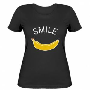 Women's t-shirt Banana smile