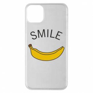 Etui na iPhone 11 Pro Max Banana smile