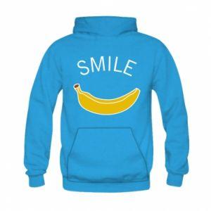 Bluza z kapturem dziecięca Banana smile