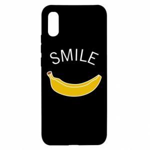 Xiaomi Redmi 9a Case Banana smile