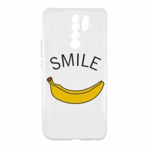 Etui na Xiaomi Redmi 9 Banana smile