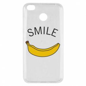 Xiaomi Redmi 4X Case Banana smile