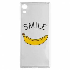 Etui na Sony Xperia XA1 Banana smile