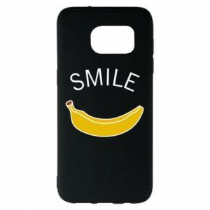 Etui na Samsung S7 EDGE Banana smile