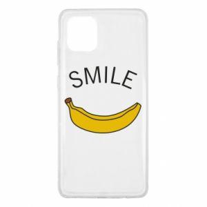 Etui na Samsung Note 10 Lite Banana smile