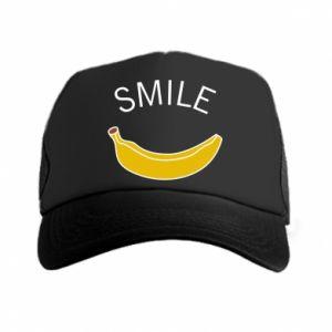 Czapka trucker Banana smile