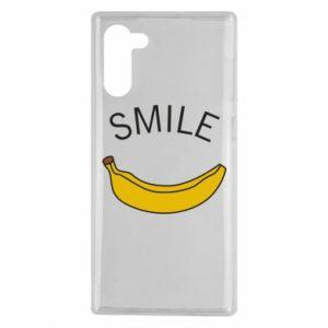 Etui na Samsung Note 10 Banana smile