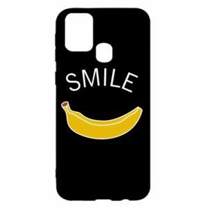 Etui na Samsung M31 Banana smile