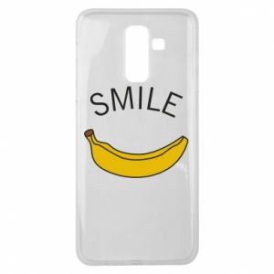 Etui na Samsung J8 2018 Banana smile