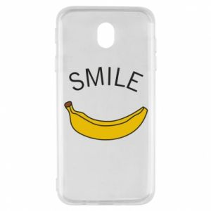 Etui na Samsung J7 2017 Banana smile