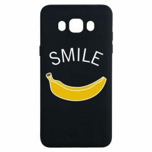 Etui na Samsung J7 2016 Banana smile