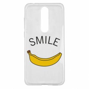 Etui na Nokia 5.1 Plus Banana smile